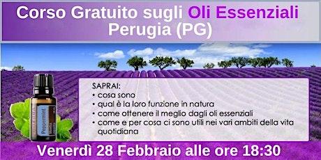 Perugia Corso Gratuito sugli Oli Essenziali tickets