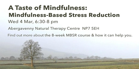A Taste of Mindfulness: Mindfulness-Based Stress Reduction (4 March) tickets