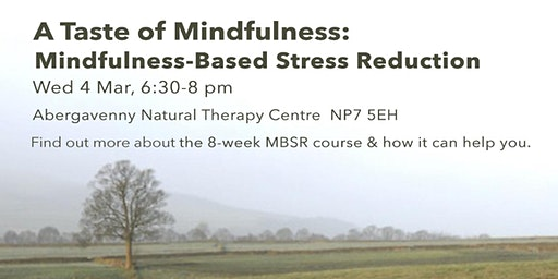 A Taste of Mindfulness: Mindfulness-Based Stress Reduction (4 March)