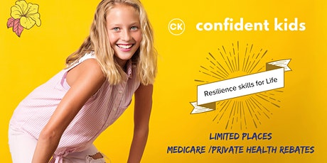 Confident Kids Program - Level 2 (9-12years) Term 1/2020 tickets