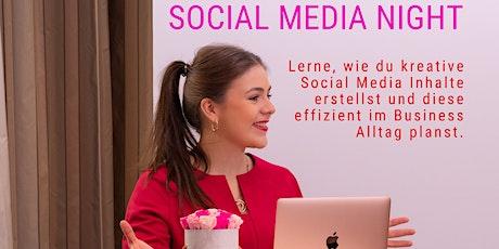 Social Media Night in München für Selbstständige und Unternehmer tickets