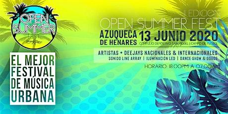 Open Summer Fest II Edición entradas