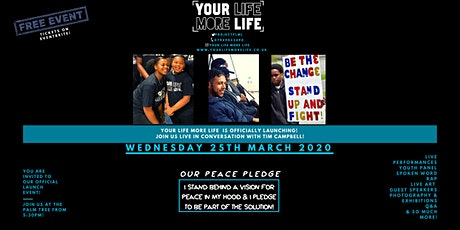 Your Life More Life Launch Event : Live in Conversation with Tim Campbell tickets