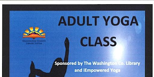 FREE Adult Yoga Class