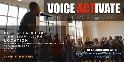 VOICE ACTIVATE with Clinton Jordan in association with CWGC