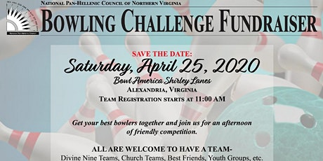 NPHC of Northern Virginia Bowling Challenge and Fundraiser 2020 tickets