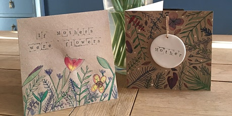Mother's Day Card Making with Watercolour tickets