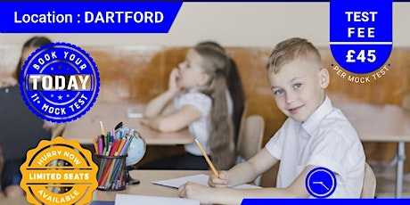 11+ Mock Test - Dartford tickets