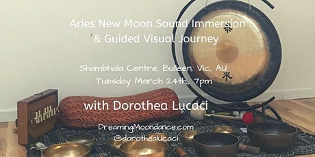 Aries New Moon Sound Immersion & Guided Visual Meditation tickets