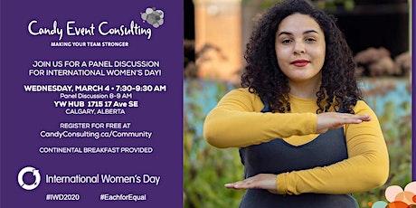 International Women's Day Breakfast Panel : A Personal Journey tickets
