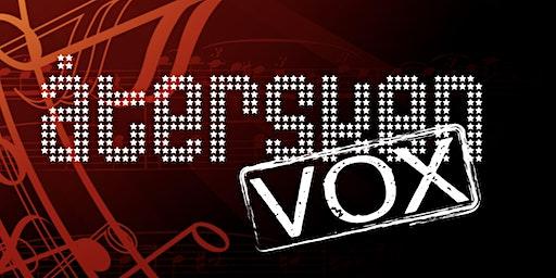 Konsert med Återsken VOX 17 mars