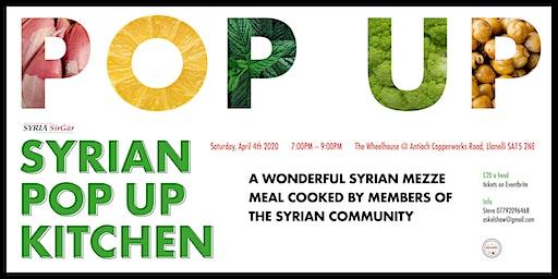 Syrian Pop Up Kitchen