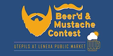 Beer'd & Mustache Contest (part of Utepils at the Lenexa Public Market 2020) tickets