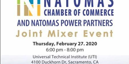 Natomas Chamber of Commerce and Natomas Power Partners Joint Mixer Event