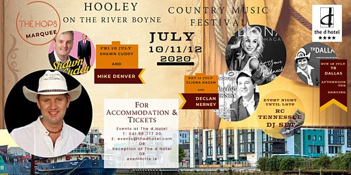 Hooley  on the River Boyne- Country Music Festival