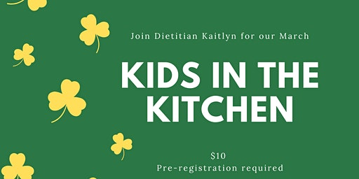 March Kids in the Kitchen