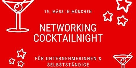 Networking Cocktailnight in München für Selbstständige & Unternehmerinnen Tickets