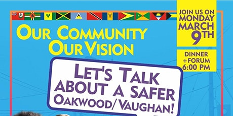 Our Vision, Our Community: Let's talk about a safe tickets