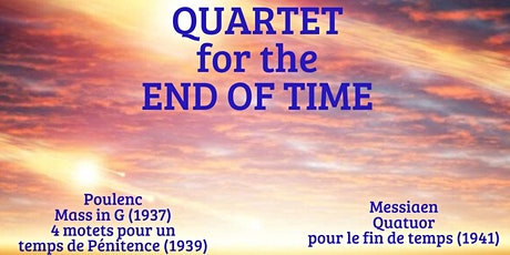 Quartet for the End of Time tickets