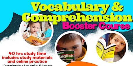Vocabulary and Comprehension Booster Course tickets