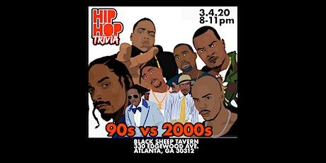 Hip-Hop Trivia ATL: 1990's vs. 2000's tickets