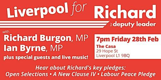 Liverpool for Richard Burgon