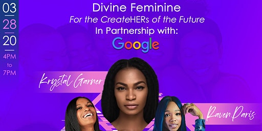 Divine Feminine : The CreateHERS of the Future