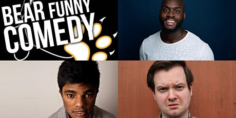 Bear Funny Comedy: Michael Akadiri, Don Biswas & Andy Barr  tickets
