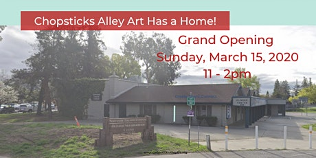 Chopsticks Aley Art Center Grand Opening Party tickets