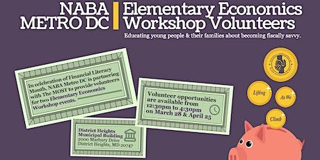 NABA Metro DC Elementary Economics Workshop Volunteers tickets