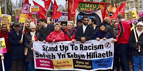 Transport to march against racism - Swansea and South West Wales. tickets