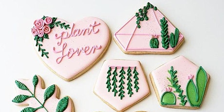Plant Lover Cookie Decorating Workshop tickets