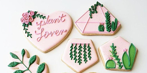 Plant Lover Cookie Decorating Workshop