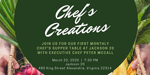 Chef's Creations Supper Club
