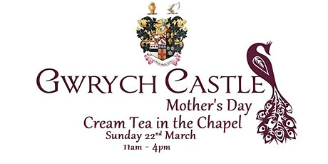 Gwrych Castle - Mother's Day Cream Tea tickets