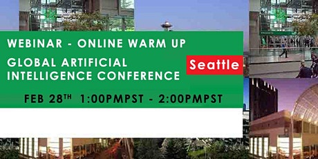 Global Artificial Intelligence Conference - Webinar - Online Warm-Up (Free) tickets