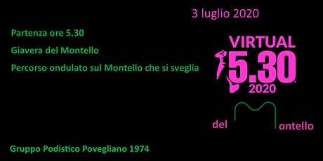 Run 5.30 Virtual del Montello biglietti