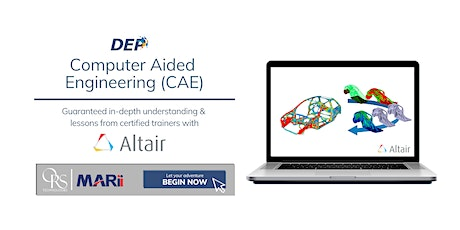 FREE: MARii Computer Aided Engineering using Altair Workshop (CAE 2020) tickets