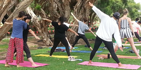 Traditional Hatha Yoga   Drop-in classes (by the river) tickets