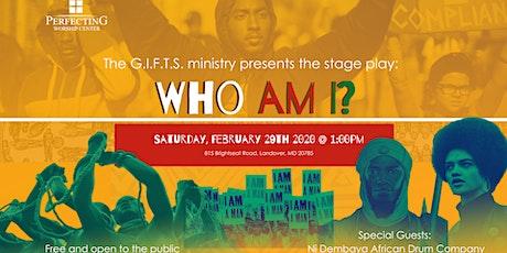 Who Am I? tickets