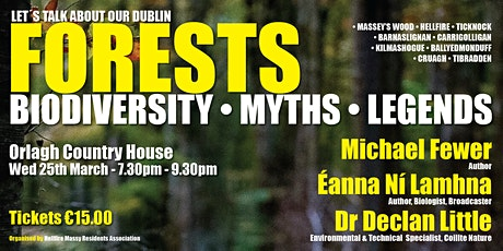 Let's Talk About Our Dublin Forests - Biodiversity • Myths • Legends tickets
