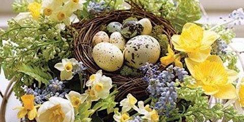 Spring Fever Basket Centerpiece
