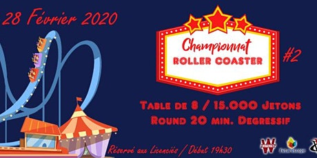 POITIERS POKER CLUB - Championnat Roller Coaster - Manche #2 billets