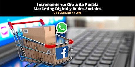 Entrenamiento Gratuito Marketing Digital y Redes Sociales boletos