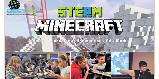 STEAM Minecraft Night (3/20) at BESThq
