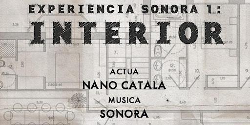 Experiencia Sonora I: Interior