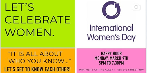 International Women's Day Happy Hour