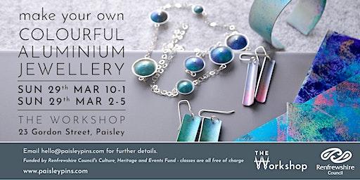 Colourful Aluminium Jewellery
