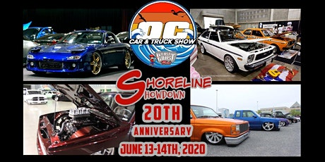 20th ANNUAL Ocean City Car & Truck Show & Shoreline Showdown Show 2 Days 2 Shows One Great Weekend tickets