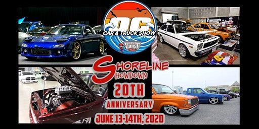 20th ANNUAL Ocean City Car & Truck Show & Shoreline Showdown Show 2 Days 2 Shows One Great Weekend